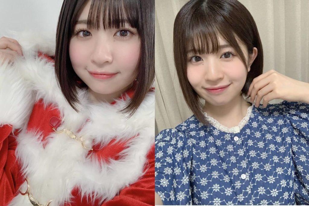 復帰前後の松田好花の顔比較