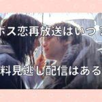 ボス恋(オーマイボス)の再放送